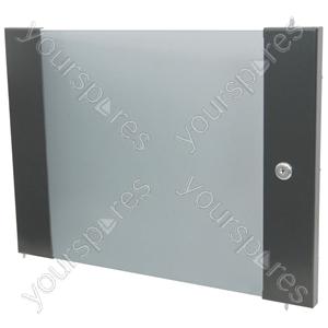 Lockable Toughened Glass Doors - - 8U
