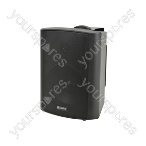 "BP Series - 100V Weatherproof Speakers - BP5V-B 5.25"" background black"