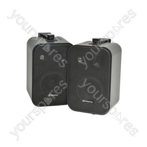 100V Line Background Speakers - 30W black - pair - B30V-B