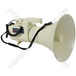 50W Megaphone With USB/SD