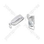 2 Way Intercom - station telephone style - 2WDP064