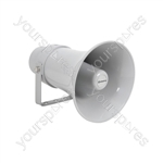 Heavy duty 100V round horn speaker 8in, 15W