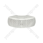 CB40V-W corner wall-mount background speaker - white