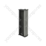 Heavy duty column speaker, 100V line, 30W rms