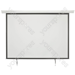 "Electric Projector Screens - 100"" 4:3 Motorised - EPS100-4:3"