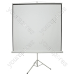"84"" 1:1 Manual Tripod Projector Screen"
