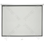"Manual Projector Screens - 86"" 4:3 - MPS86-4:3"