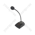 COM40 Dynamic Paging Microphone with Base - and