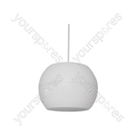 "PS Series Pendant Speakers - Wide Angle - 12.5cm (5"") white - PS50-W"