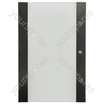 Lockable Toughened Glass Doors - - 35U