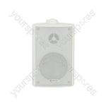 "BP3V-W 100V 3"" background speaker white"