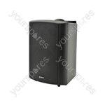 "BP Series - 100V Weatherproof Speakers - BP6V-B 6.5"" background black"