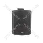 FS Series High Performance Foreground Speakers - FSV-B speaker, 100V line, 8 Ohm, 65W rms, black