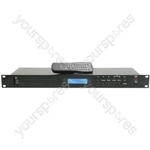 Multimedia Player with CD/USB/SD & FM Tuner - AD-400