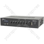 RM Series 5 Channel 100V Mixer Amps with Bluetooth® - RM60B mixer-amp