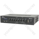 RM Series 5 Channel 100V Mixer Amps with Bluetooth® - RM120B mixer-amp