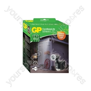 GP Outdoor Battery Powered PIR Flood Light - RF1