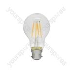Standard GLS Filament Lamp 4W LED B22 WW