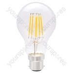 Standard GLS Filament Lamp 6W LED E27 WW