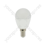 LED Golfball Lamp - 6W LED E14 - Dimmable WW