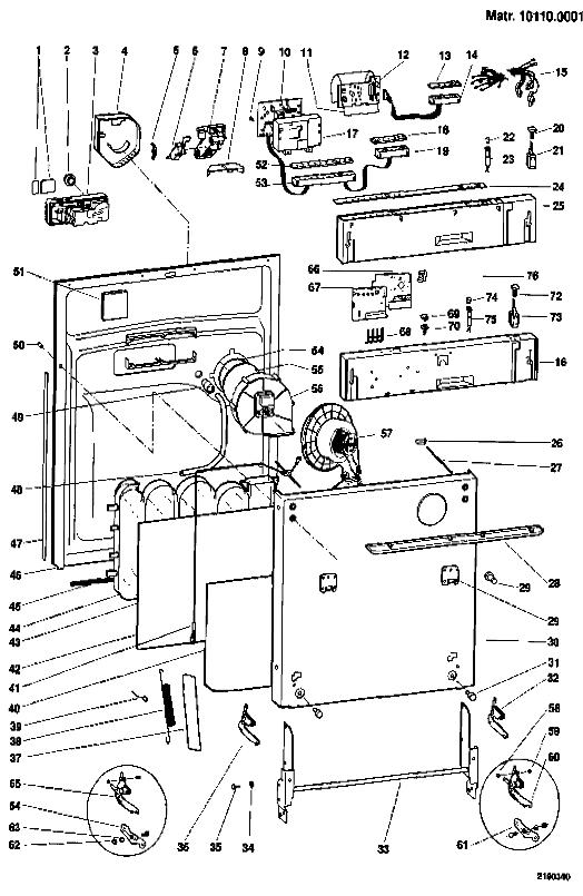 Hotpoint Bfi620 Dishwasher Door Panel  Zinc  C00095269 By Indesit