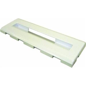 Lower Freezer Flap (446x157x25mm) White