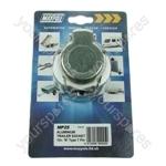Socket - Aluminium - 12N - 7-Pin