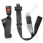 Seat Belt - Static Lap - Black