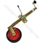 Jockey Wheel - Telescopic -  Clamp - 34mm