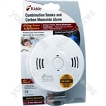Combined Smoke and Carbon Monoxide Protection