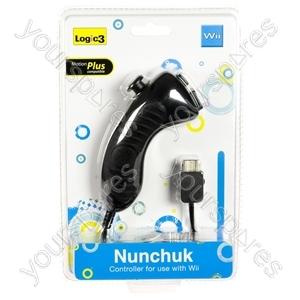 Wii Wired Nunchuk - Black