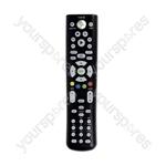 XB360 Pro DVD Remote  - Black