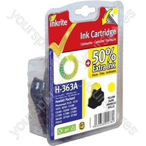 HP Photosmart D7168 NG Ink Cartridges ( 363) for Photosmart 3210/3310/6100/7100/8250 - C8773E Yellow