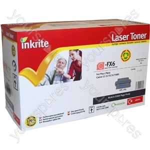 Inkrite Laser Toner Cartridge compatible with Canon FX6 Black