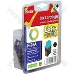 Inkrite NG Ink Cartridges (HP 26) for HP Deskjet 200 400 500 550 Fax 200 - 51626A Black
