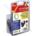 Inkrite NG Ink Cartridges (HP 350) for HP Vivera PhotoSmart C4280/C5280 - CB335EE Black