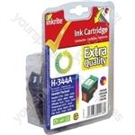 Inkrite NG Ink Cartridges (HP 344) for HP PSC 1610 2350 Deskjet 5740 6520 6620 6980 - C9363E Clr
