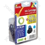 HP Photosmart C5150 NG Ink Cartridges ( 363) for Photosmart 3210/3310/6100/7100/8250 - C8771E Cyan