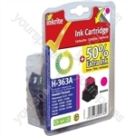 HP Photosmart D7360 NG Ink Cartridges ( 363) for Photosmart 3210/3310/6100/7100/8250 - C8772E Magenta