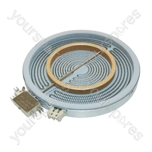 Bosch 2200/750 Watt Large Burner Halogen Heating Zone