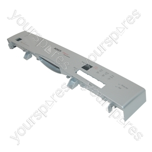 Bosch Silver Dishwasher Display Panel Fascia