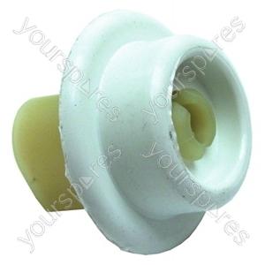 Zanussi Dishwasher Lower Basket Wheel and Support