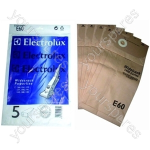 Electrolux Vacuum Paper Bag - Pack of 5 (E60)