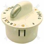 Zanussi-electrolux W1242W Timer Knob