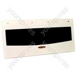 Door Glass Brkt/badge White Gr