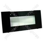 Door Outer Grill Black Glass
