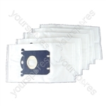 Electrolux Excellio Microfibre Vacuum Cleaner Duct Bags X 5