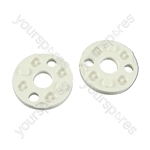 Flymo E30 FL182 Blade Height Spacers Two Pegs On Each Side