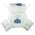 Miele Vacuum Cleaner Dust Bags Type GN x 10 + Filters