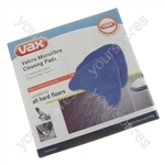 Vax S2S / S6S Series Velcro Microfibre Cleaning Pads (Type 1)